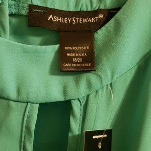 Ashley Stewart Tops - Ashley Stewart Keyhole Blouse 18/20